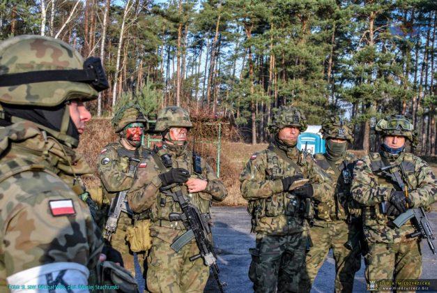 Dynamiczne ćwiczenie z wojskami p.k. WILK-19