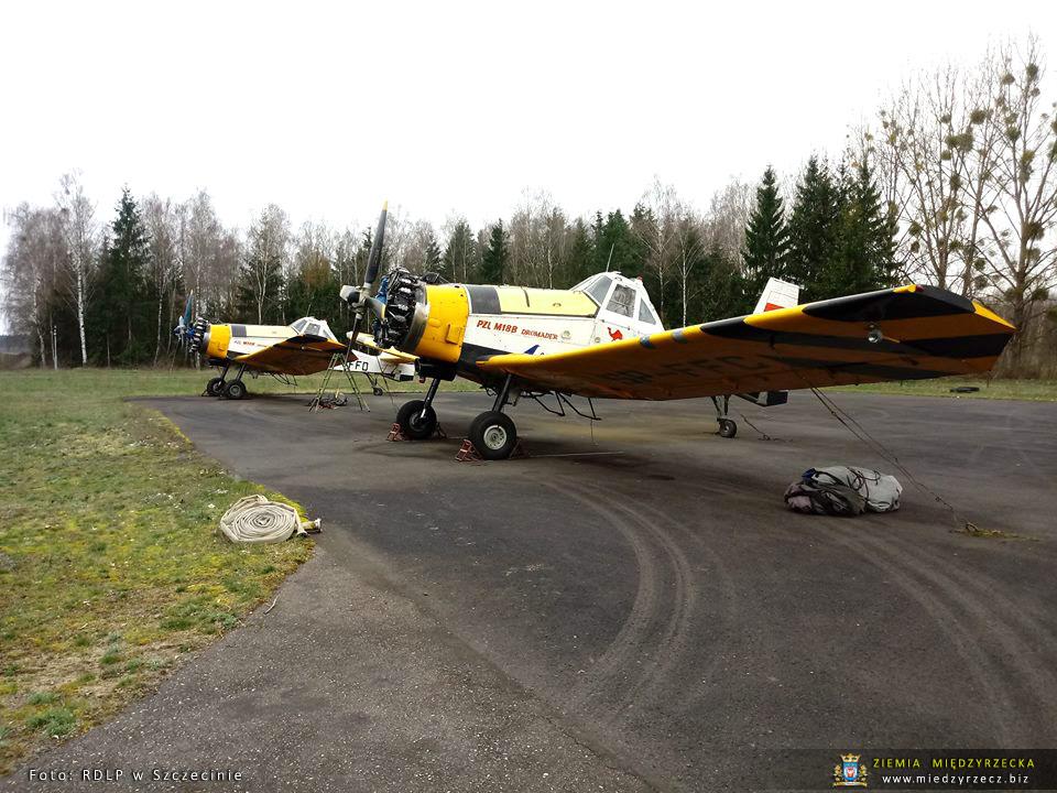 Leśna Baza Lotnicza w Lipkach Wielkich