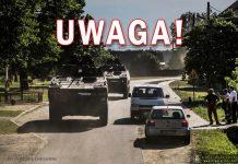 UWAGA! CIĘŻKI SPRZĘT NA DROGACH