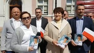Elżbieta Anna Polak w Międzyrzeczu
