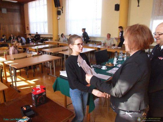 Ogólnopolski Turniej Wiedzy Pożarniczej pn. Młodzież Zapobiega Pożarom