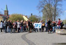 Strajk nauczycieli w Międzyrzeczu