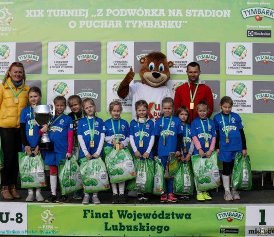 Sportowy charakter pokazały też najmłodsze zwyciężczynie, czyli SP 1 Międzyrzecz