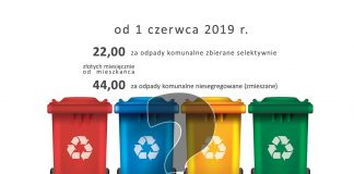 Podwyżki opłat za wywóz odpadów komunalnych w gminie Międzyrzecz,