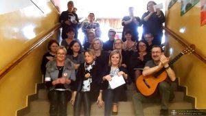 Protest Song nauczycieli SP 6 w Międzyrzeczu