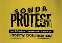 Protest nauczycieli w Międzyrzeczu