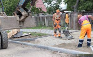 Remont drogi w sołectwie Wyszanowo