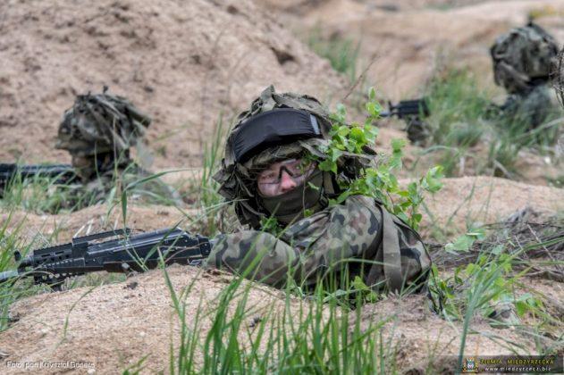 Intensywne szkolenie Czarnej Dywizji trwa