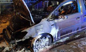 Ktoś podpalił auto właścicieli lodziarni Czyste Lody Tradycyjne