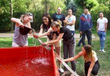 Piknik strażacki w Ośrodku Edukacji Leśnej Głębokie