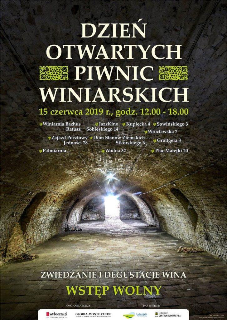 Święta Województwa Lubuskiego  - Spacer po winiarskich piwnicach