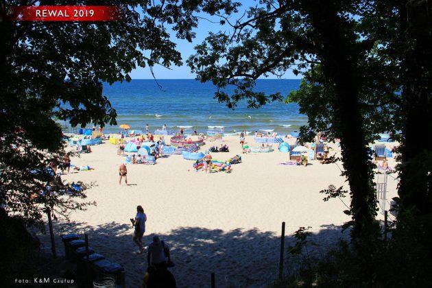 Rewal - Trzęsacz - drugi dzień nad Bałtykiem