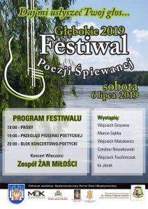 Festiwal Poezji Śpiewanej - Głębokie 2019