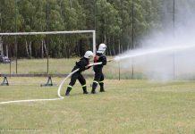 Zawody sportowo-pożarnicze w Bukowcu