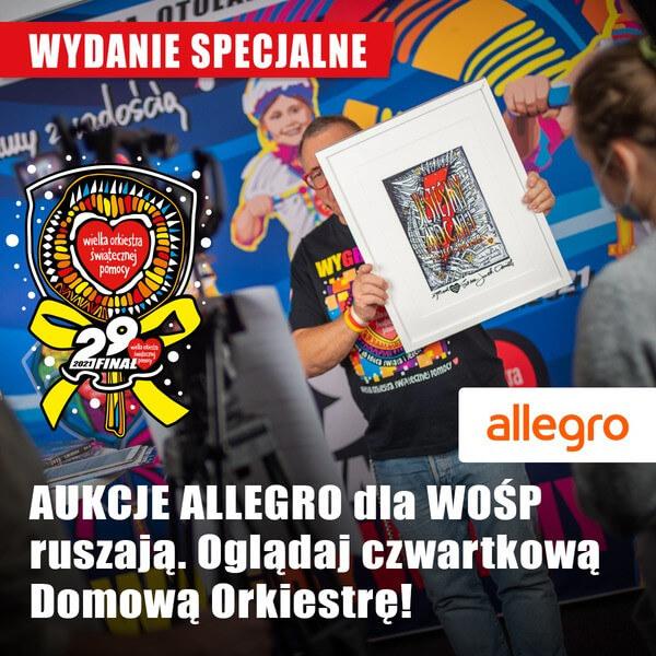 Miedzyrzecz Specjalne Wydanie Domowej Orkiestry Startuja Aukcje Allegro Dla Wosp Miedzyrzecz