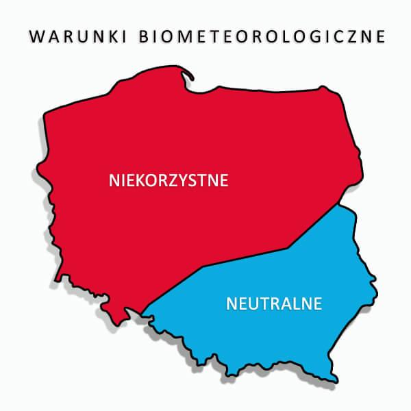 Warunki Biometeorologiczne2 3 01 2021
