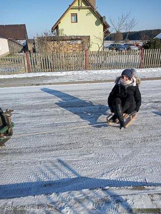 Zima W Solectwie Janowo 08
