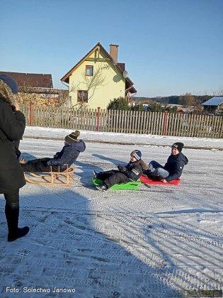 Zima W Solectwie Janowo 16