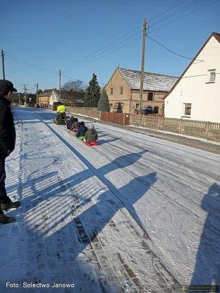 Zima W Solectwie Janowo 18