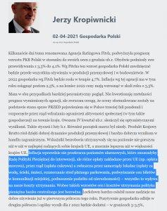 jerzy kropiwnicki blog