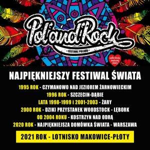 pol'and'rock festival plakat zapowiedz