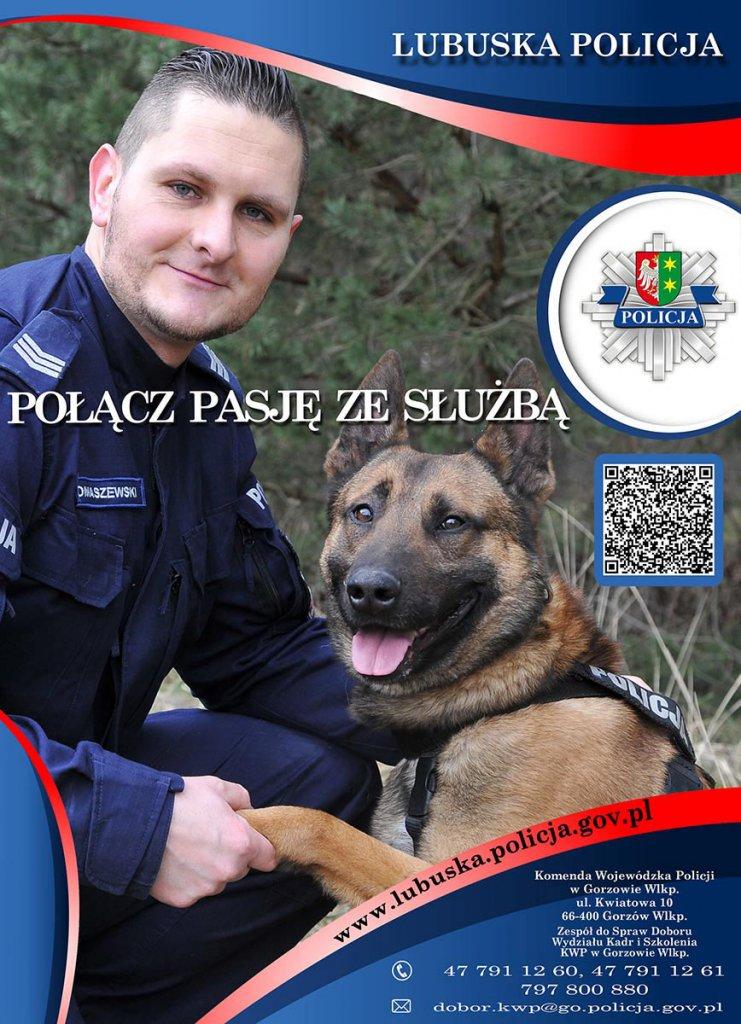 lubuska policja międzyrzecz plakat