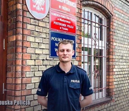 policja lubuska trzciel 000