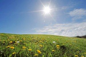 upalne słońce w polsce