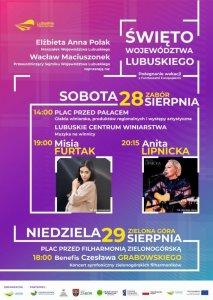 Święto województwa lubuskiego plakat