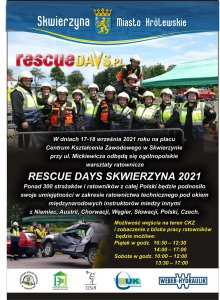 rescue days 2021 plakat