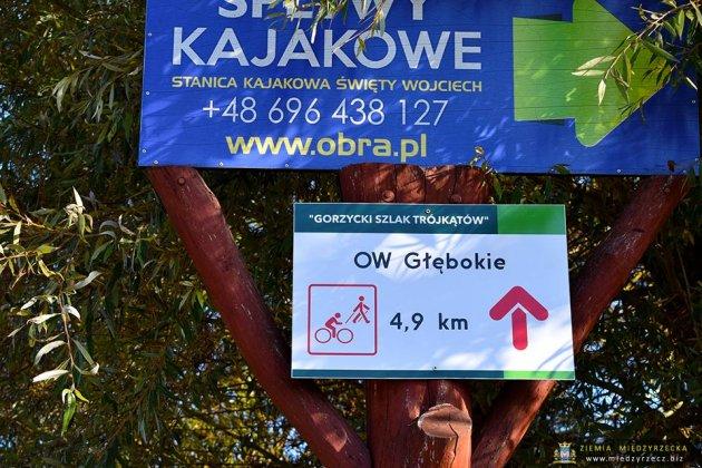 szlaki piesze rowerowe międzyrzecz 004